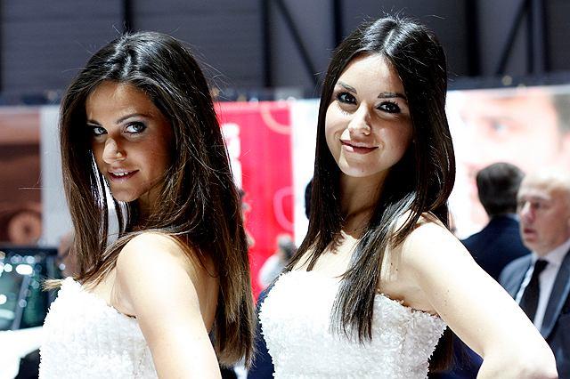 salon genewa 2012 najpiękniejsze hostessy