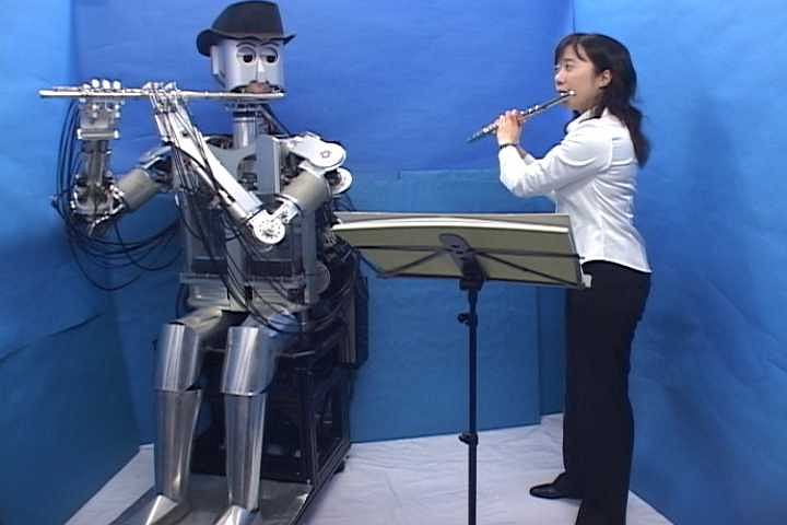 Robot Waseda (źródło: Takanishi Lab)