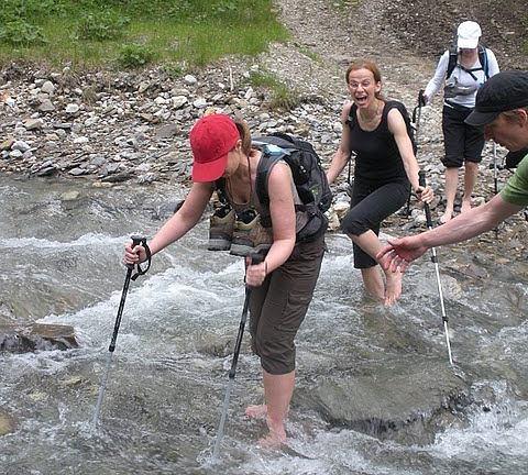 Trekking po Tatrach.