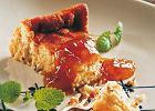 Sernik ze �wie�ego sera koziego z melis� cytrynow�