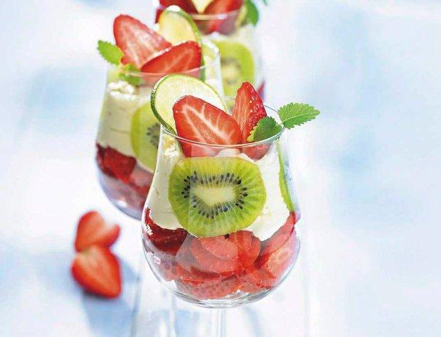 Zmys�owe desery z truskawkami