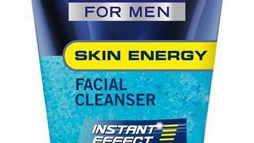 Żel do mycia twarzy Skin Energy zawiera złuszczające drobinki, które efektywnie oczyszczają pory skóry. Cena 16 zł.