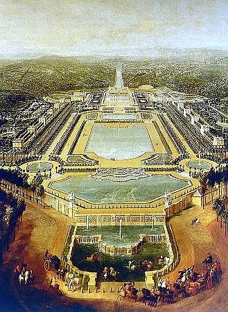 Ogr�d francuski mistrza kompozycji Le N�tre