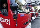 Pożar domu opieki pod Żyrardowem. 54 osoby ewakuowane