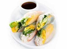 Rożki z mango i krewetkami - ugotuj