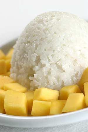 Ryż puddingowy z mango