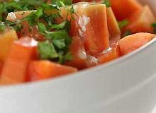 Sałatka z papai - ugotuj
