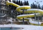 Słowacja: kąpiel na śniegu
