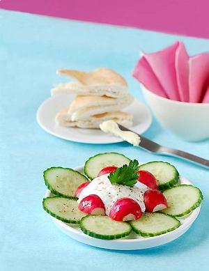 Sałatka rzodkiewkowa z jogurtem
