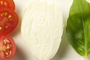Mozzarella zapiekana z pomidorkami cherry
