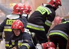 W Pyrzycach spłonął budynek socjalny. 53 osoby zostały bez dachu nad głową