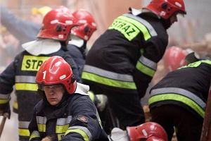Pożar domu na Podlasiu. Nie żyje matka i niemowlę, trwają poszukiwania drugiego dziecka