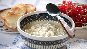 Winna zupa z twarogiem
