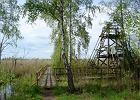 Rezerwat Serafin, początek ścieżki edukacyjnej