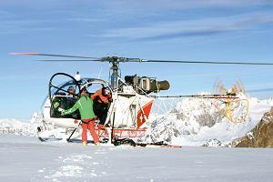 Wypadek na nartach. Gdy potrzebujesz helikoptera