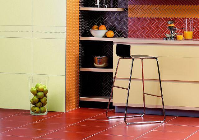 Płytki ceramiczne. Firma: KERPOL/LASSELSBERGER, więcej informacji pod adresem: www.kerpol.pl