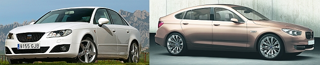 BMW PAS i Seat Exeo