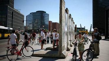 Fragment muru na Potsdamer Platz