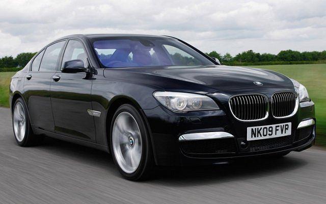 BMW 7 ze sportowym pakietem stylistycznym