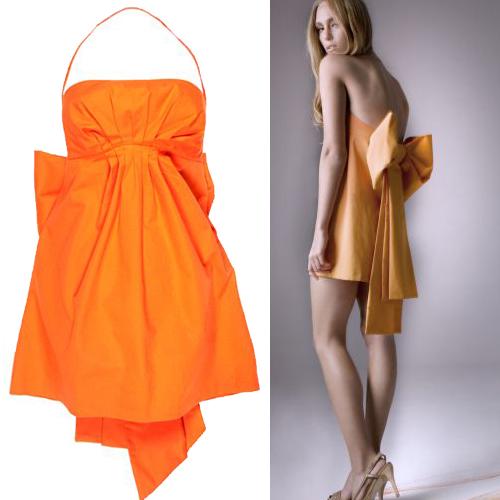 Sukienka z kolekcji Rafala Kowalskiego :  designer fashion collectors