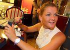 Agnieszka Radwańska z zegarkiem Longinus. To efekt umowy sponsorskiej.