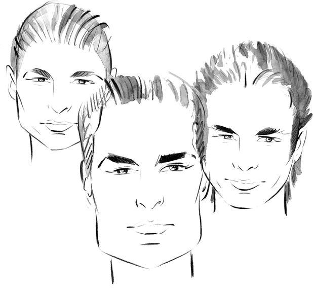 Fryzury Męskie Z Zakolami Mężczyźni Motocykle Porady Logo24pl