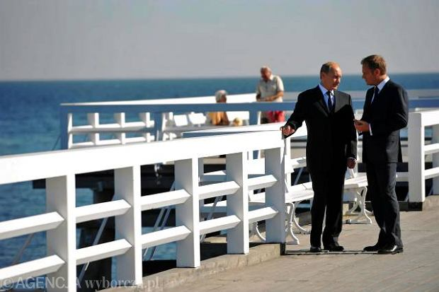 W�adimir Putin i Donald Tusk