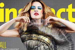 Ostry, kolorowy makija� i oryginalna kreacja. Kylie Minogue na ok�adce gejowskiego pisma Instinct naprawd� ci�ko jest pozna�. Inaczej jest ze zdj�ciami z wn�trza pisma. Kylie wygl�da naprawd� ciekawie. Zgadzacie si�?