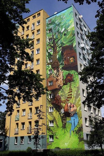 Zdj cie nr 2 w galerii mural nie jest po to eby psu for Mural ursynow