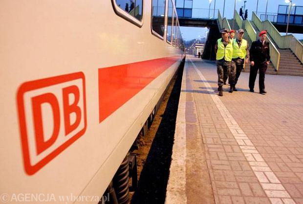 Poci�g Deutsche Bahn