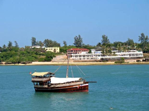 Port w Mombasie