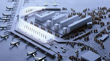 Projekt warszawskiego Terminalu 2, z jakim pracownia JSK przegrała z Estudio Lamela