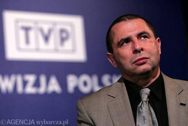 """""""Bronis�aw Wildstein przedstawia"""" zdj�ty z anteny TVP"""