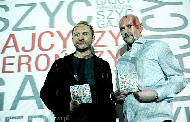 Nowa p�yta: Borys Szyc czyta wiersze Gajcego