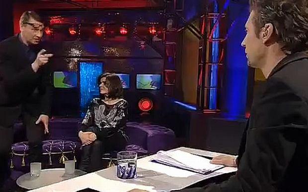 Male�czuk wyszed� z programu Majewskiego. Wideo