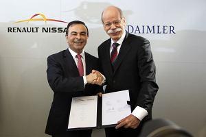 Umowa Daimlera z Renault-Nissan