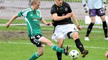 Dawid Nowak gra z Polonią Warszawa