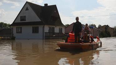 dom po powodzi
