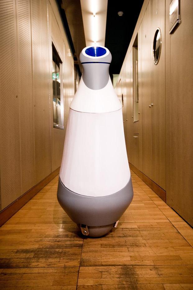 Zdjęcie numer 1 w galerii - Robot jeżdżący na kuli - stylowo i z elegancją