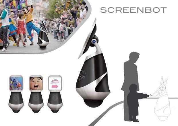 Zdjęcie numer 3 w galerii - Robot jeżdżący na kuli - stylowo i z elegancją