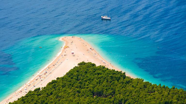 Chorwacja, Wyspa Brac, Zlatni Rat
