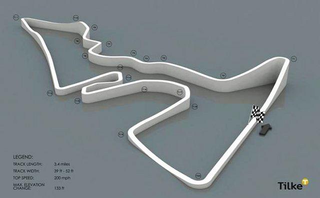 Projekt nowego toru F1 w teksańskim Austin