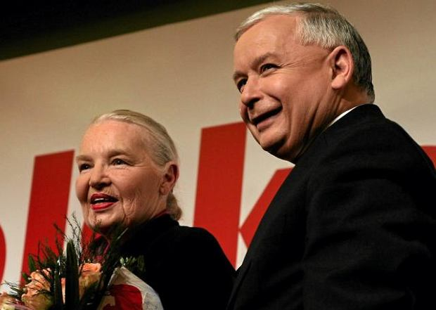 Jadwiga Staniszkis i Jaros�aw Kaczy�ski