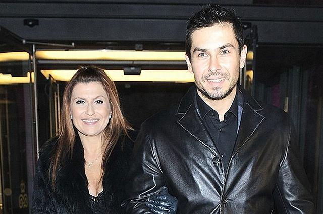Katarzyna Skrzynecka i Marcin Łopucki przyszli na pokaz Teresy Rosati i jak zwykle zaszokowali strojem.