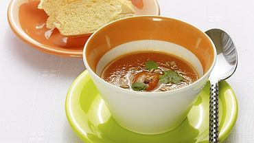 Zupa krem z marchewki z kolendrą