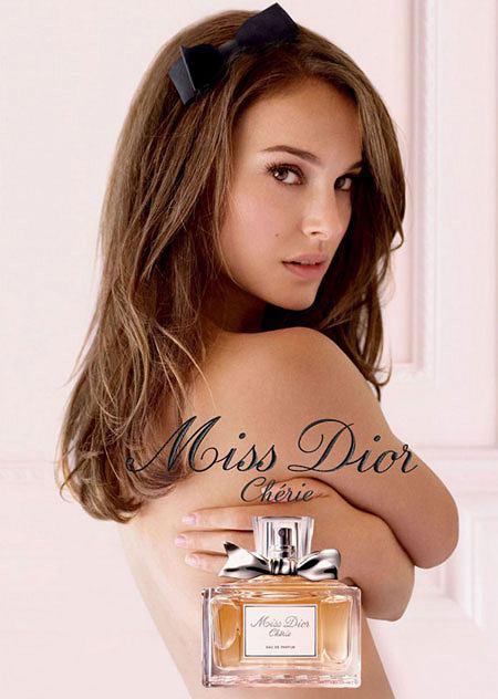 natalie Portman w reklamie Miss Dior Cherie