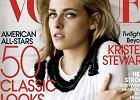 Kristen Stewart w bujnej fryzurze na ok�adce Vogue - �adnie?