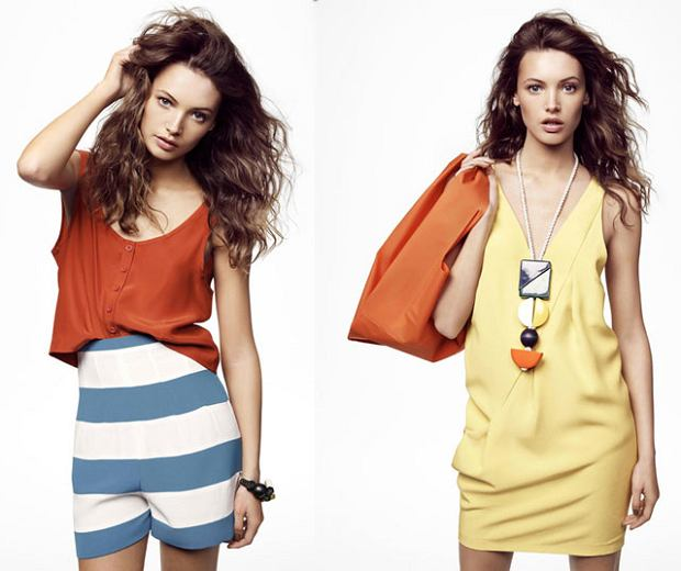 H&M, lookbook, lato 2011