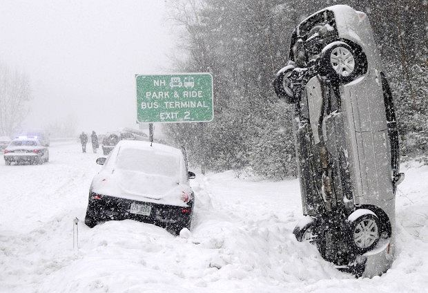 Zima nie odpuszcza; fot. deser.pl