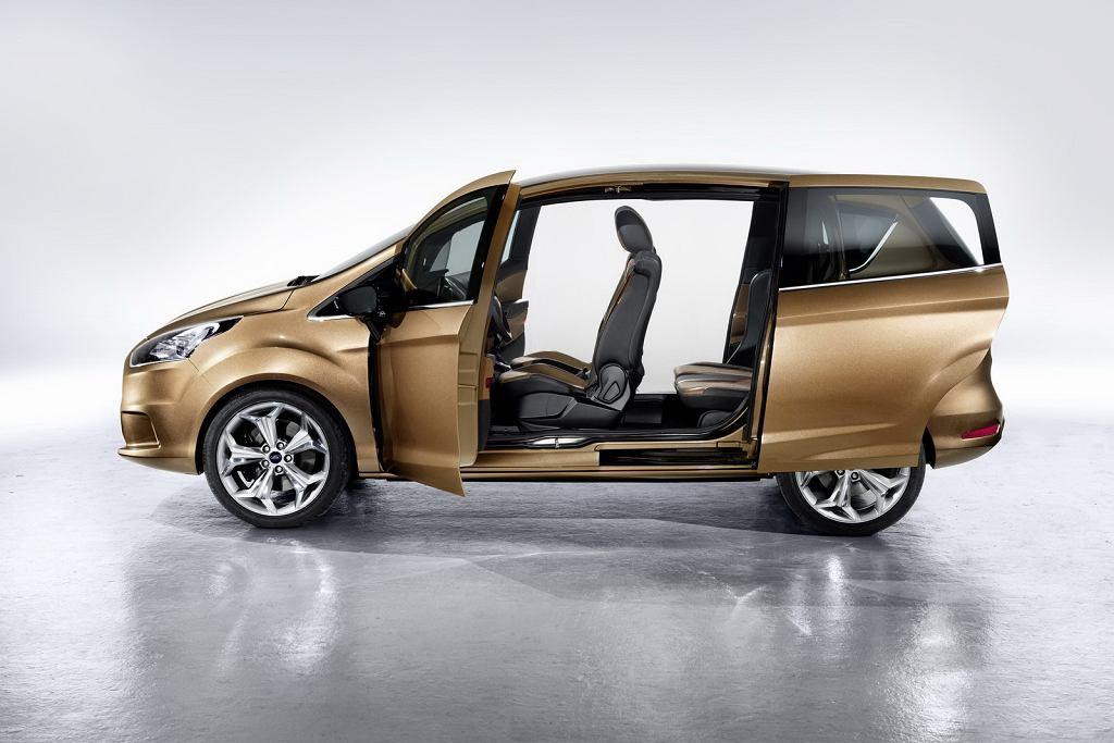 Ford B-Max   Salon Genewa 2011